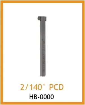 Резец для фактуры 2/140° PCD