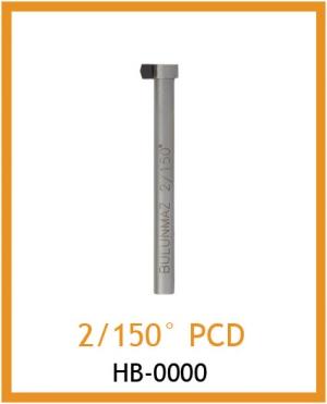 Резец для фактуры 2/150° PCD