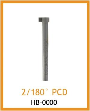 Резец для фактуры 2/180° PCD