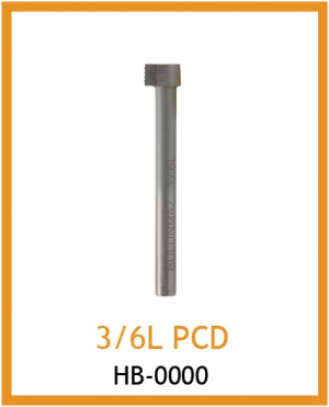 Резец для фактуры 3/6L PCD