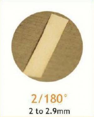Резец станочный алмазный 2/180°
