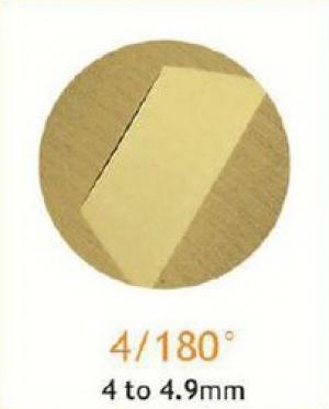 Резец станочный алмазный 4/180°