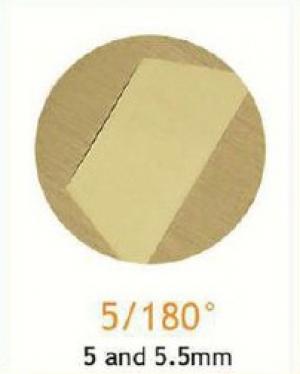Резец станочный алмазный 5/180°