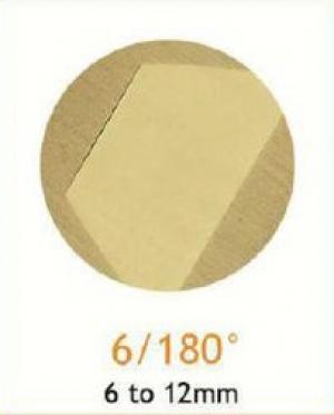 Резец станочный алмазный 6/180°