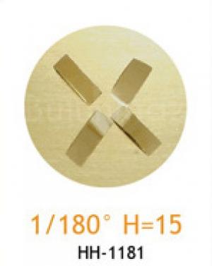 Резец с головкой молот 1/180° H=15
