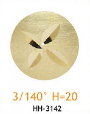 Резец с головкой молот 3/140° H=20
