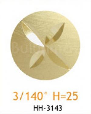 Резец с головкой молот 3/140° H=25