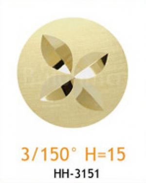 Резец с головкой молот 3/150° H=15
