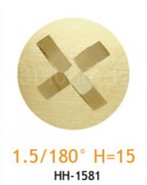 Резец с головкой молот 1.5/180° H=15