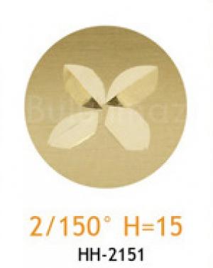 Резец с головкой молот 2/150° H=15