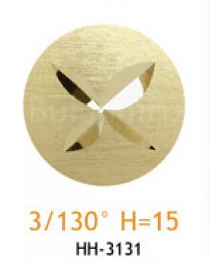 Резец с головкой молот 3/130° H=15