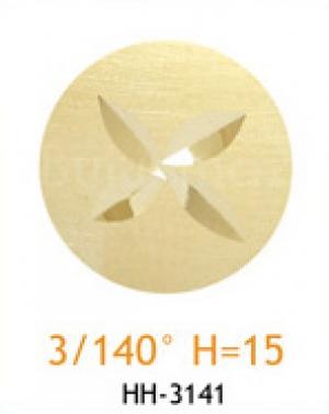 Резец с головкой молот 3/140° H=15