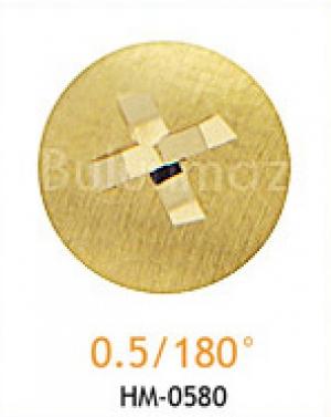 Резец мини 0.5/180°